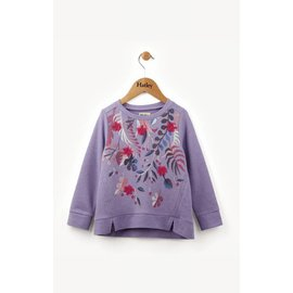 Hatley Purple Fronds L/S Pull Over
