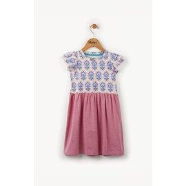Hatley Floral Flutter Sleeve Dress