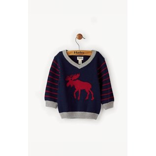 Hatley Hatley Classic Moose Mini Sweater