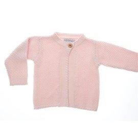 Beba Bean 6-12m Victoria Sweater, Pink