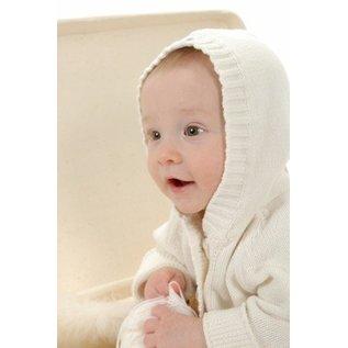 Beba Bean Ivory Knit Hoodie & Pant