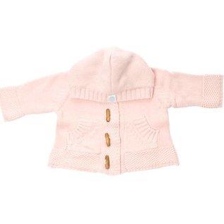 Beba Bean Pink Knit Hoodie
