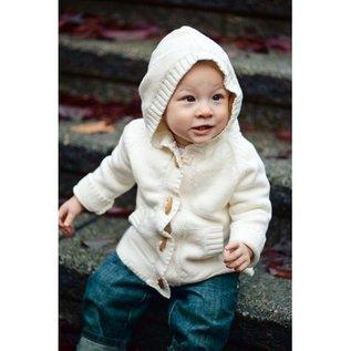 Beba Bean Ivory Knit Hoodie