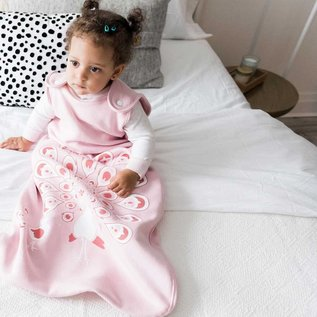 WeeUrban Pink Peacocks WeeDreams Premium Sleep Sac