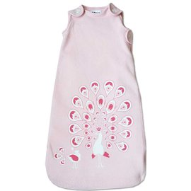 WeeUrban Pink Peacocks WeeDreams Premium Sleep Sac