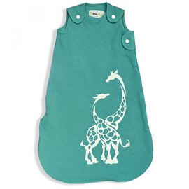 WeeUrban Aqua Giraffes WeeDreams Premium Sleep Sac