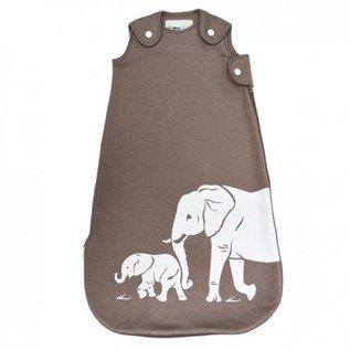 WeeUrban Taupe Elephants WeeDreams Premium Sleep Sac