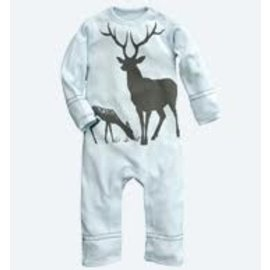 WeeUrban Mountain Mist Deer Romper