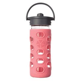 Life Factory Coral 12oz Straw Bottle