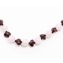 Healing Hazel Adult Amber & Gemstones Necklace