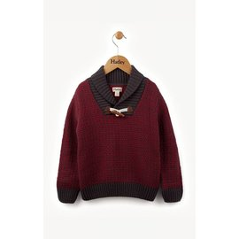 Hatley Hatley Maroon Toggle Sweater