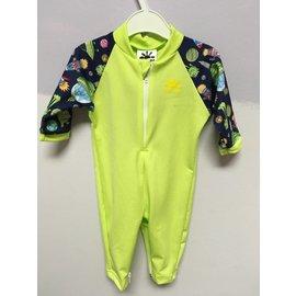NoZone Lime Cosmos Fiji Baby Suit
