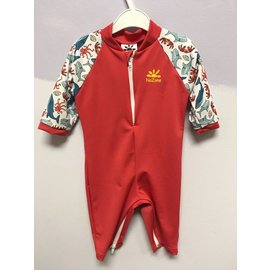 NoZone Red Salty Fiji Baby Suit