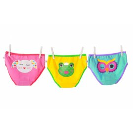 Zoochini Organic Girls Underwear, Calypso