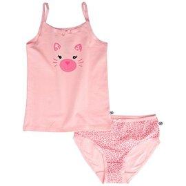 Zoochini Organic Cami & Underwear Set, Leopard