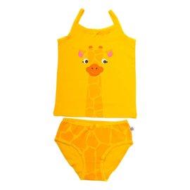 Zoochini Organic Cami & Underwear Set, Giraffe