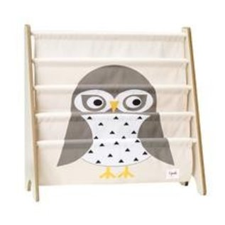 3 Sprouts Book Rack, Owl