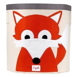 3 Sprouts Toy Bin, Fox