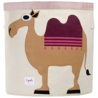 3 Sprouts Toy Bin, Camel