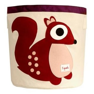 3 Sprouts Toy Bin, Squirrel