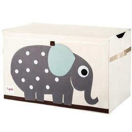 3 Sprouts Toy Chest, Elephant