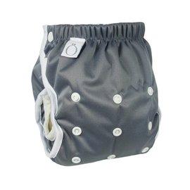Omaiki One-Size Swim Diaper, Steel Grey