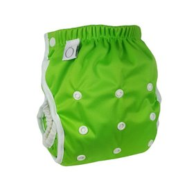 Omaiki One-Size Swim Diaper, Apple Green