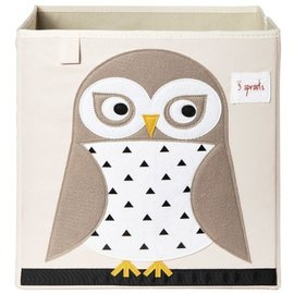 3 Sprouts Storage Box, Owl