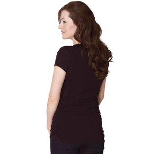 Momzelle Essential Maternity T, Black