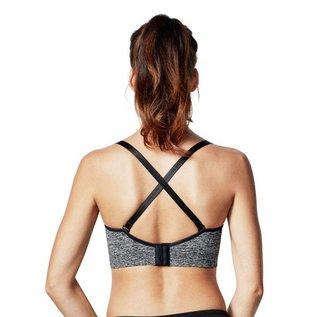 Bravado Body Silk Seamless Yoga, Charcoal Heather