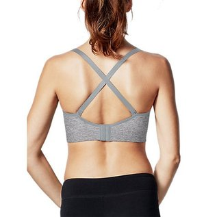 Bravado Body Silk Seamless Yoga, Dove Heather