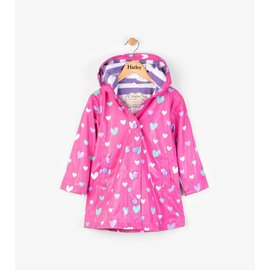 Hatley Colour Changing Floating Hearts Splash Jacket