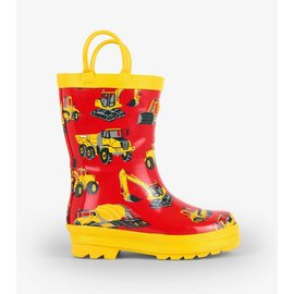 Hatley Heavy Duty Machines Rain Boot