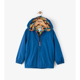 Hatley Blue Lined Windbreaker