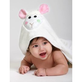 Zoochini Lola the Lamb Baby Towel