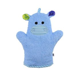 Zoochini Henry the Hippo Bath Mitt