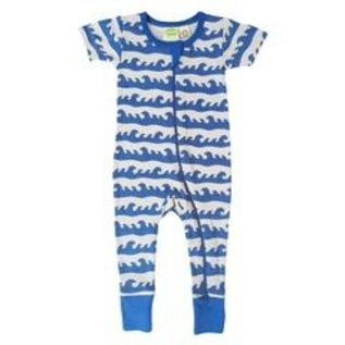 Parade Organics Surf Organic Zippered Short Sleeve Romper