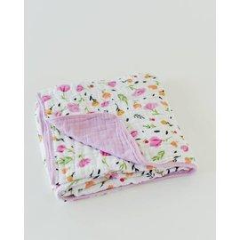 Little Unicorn Berry & Bloom Cotton Muslin Quilt