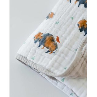 Little Unicorn Bison Cotton Muslin Quilt