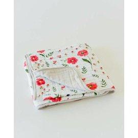 Little Unicorn Summer Poppy Cotton Muslin Quilt
