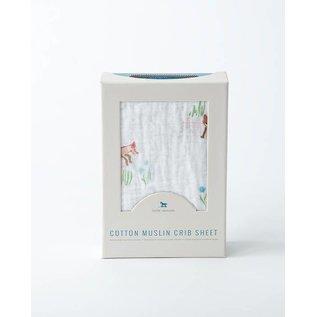 Little Unicorn Fox Cotton Muslin Crib Sheet