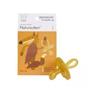Natursutten Natural Rubber Orthodontic Pacifier, Butterfly