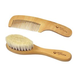 Green Sprouts Wooden Brush & Comb Set
