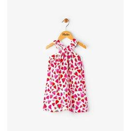 Hatley Juicy Watermelon Mini Crisscross Dress