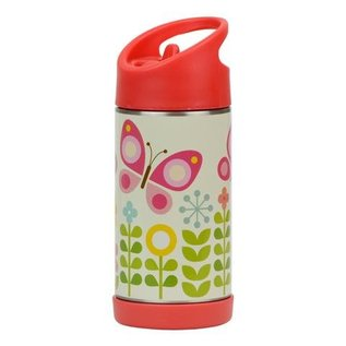 Petit Collage Butterflies Stainless Steel Water Bottle