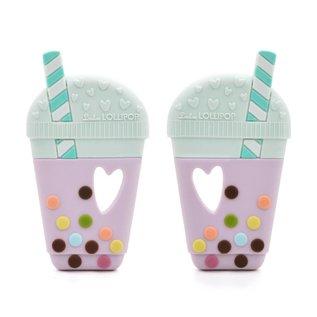 Loulou Lollipop Milk Tea Teether Single