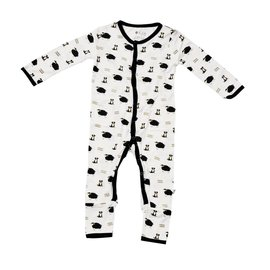 Kyte Baby Pasture Bamboo Printed Romper