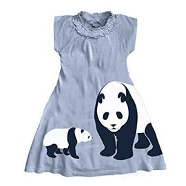 WeeUrban WeeUrban Dress, Panda