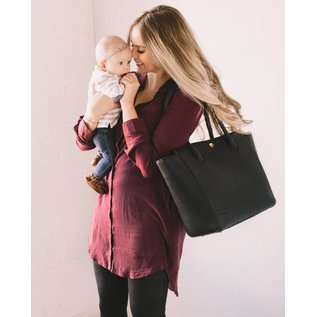 Little Unicorn Black Brookside Tote