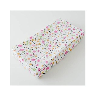 Little Unicorn Berry & Bloom Changing Pad Cover